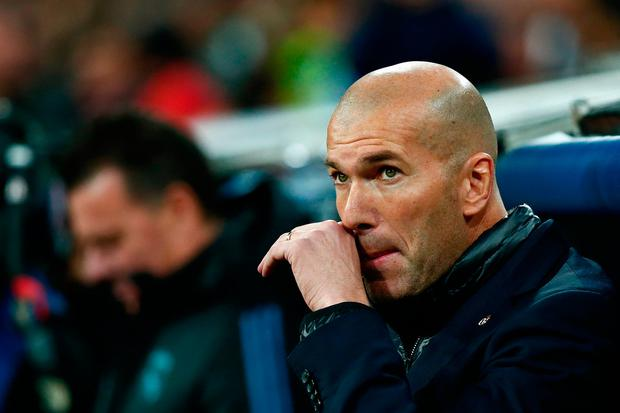 Real Madrid head coach Zinedine Zidane. Photo: Getty Images