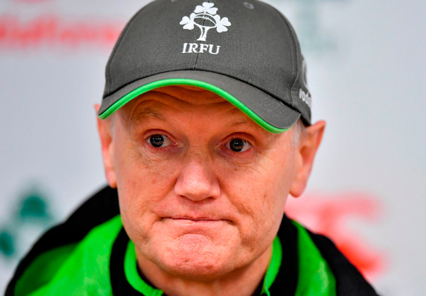 'Joe Schmidt and the IRFU appear to be miffed that questions were asked about Rory Best attending a rape trial in Belfast.' Photo by Brendan Moran/Sportsfile