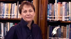 sexual Ulysses: Writer Anne Enright says Joyce has sex sewn up as far as Irish literature is concerned. Photo: Ger Holland