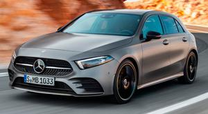 DRIVE TO LURE YOUNGER BUYERS: The new Mercedes A-Class will be on sale here in Junea