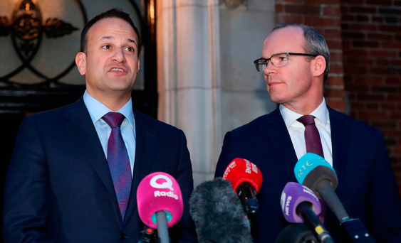 The backdrop to this poll is continuing positive economic indicators, Brexit (which in the short term is ironically proving to be a boon for the party), and the Project Ireland 2040 plan. Photo: PA