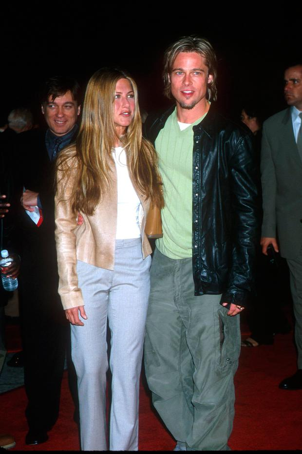 Jennifer Aniston and ex-husband Brad Pitt