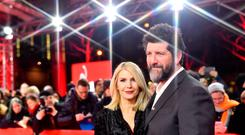 (L-R) Yvonne Connolly and John Conroy attend the 'The Happy Prince' premiere during the 68th Berlinale International Film Festival Berlin at Friedrichstadtpalast on February 17, 2018 in Berlin, Germany. (Photo by Pascal Le Segretain/Getty Images)