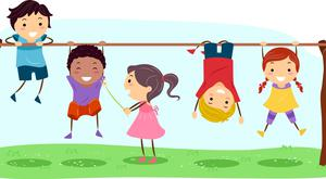 Hanging tough: German children, according to writer Sara Zaske, are instructed well and then trusted to manage risk themselves