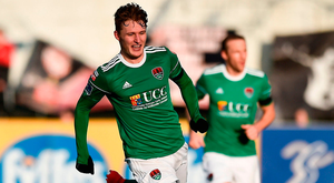 Kieran Sadlier will be hoping to have lots of goals to celebrate this season. Photo by Seb Daly/Sportsfile
