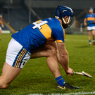 Jason Forde slots a sideline cut over the bar during Tipperary's victory against Wexford. Photo: Sportsfile