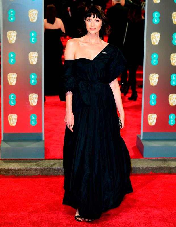Caitriona Balfe attending the EE British Academy Film Awards held at the Royal Albert Hall, Kensington Gore, Kensington, London. Photo: PA