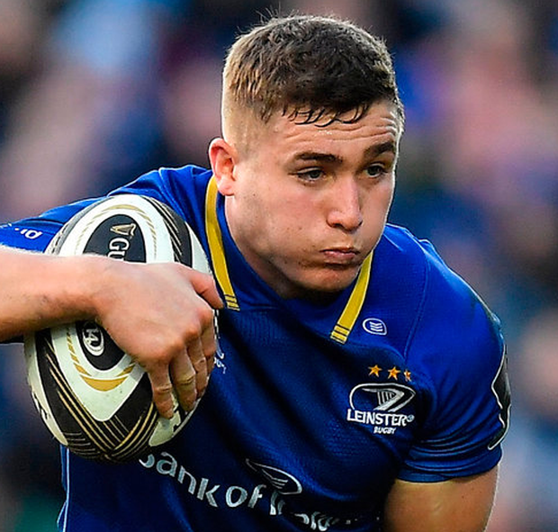 McGrath's score – created by Jordan Larmour and Lowe – put the home side on course for a significant win. Photo by Brendan Moran/Sportsfile