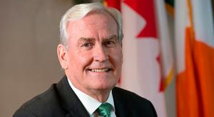 Canadian ambassador Kevin Vickers. Photo: Tony Gavin