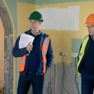 Daniel, Majella and Dermot aren't singing from the same hymn sheet. Pic: RTE / Room to Improve