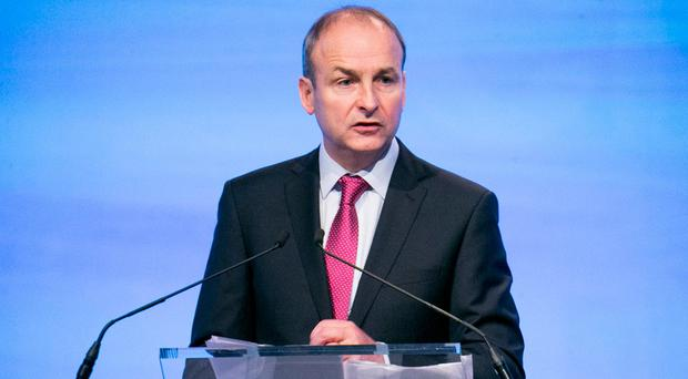Micheál Martin is not being blamed by his party's TDs. Photo: Kyran O'Brien