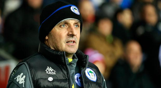 Cook is hoping he has no reason to throw away his tea prematurely against Manchester City at the DW Stadium this evening. Photo: Getty Images