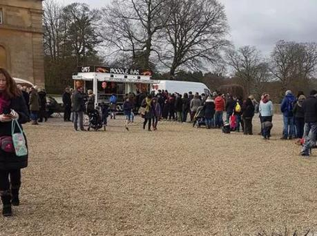 The Palace has apologised after angered customers branded the event