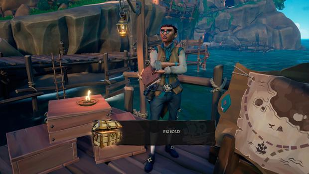 Sea of Thieves: This merchant sells animals to be transported across the map