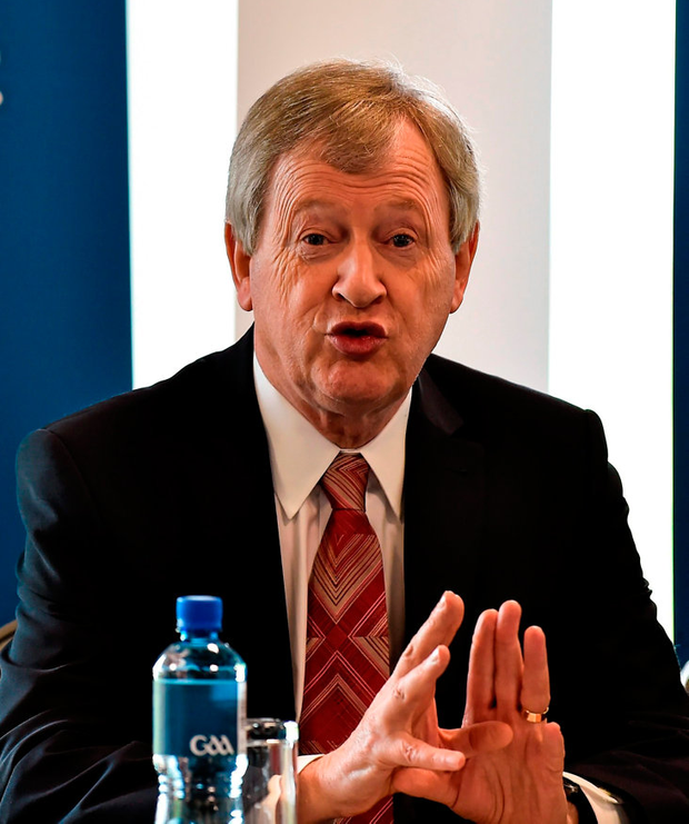 Outgoing GAA directorgeneral Páraic Duffy. Photo: Sportsfile