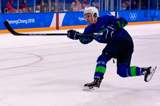 Slovenian ice hockey player chucked out of Winter Olympics