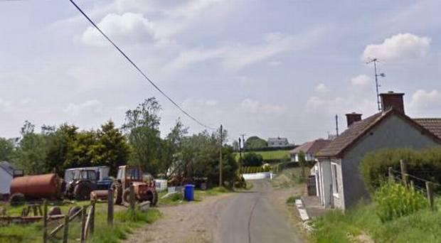 Shinnagh Road in rural Tyrone / Credit: Google Maps