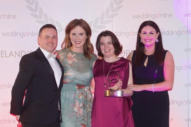 Castlemartyr Hotel won the overall wedding venue of the year at this year's weddingsonline awards