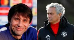 Antonio Conte and Jose Mourinho will be hoping the Premier League success from last week