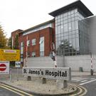 St James' Hospital in Dublin