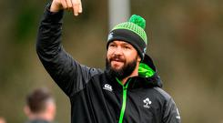 Defence coach Andy Farrell. Photo: Ramsey Cardy/Sportsfile
