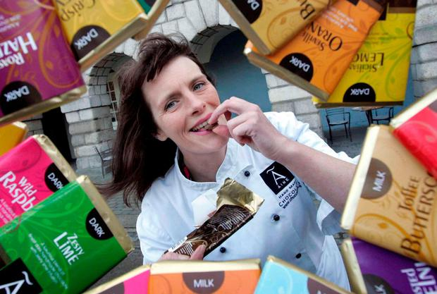 Ann Rudden, managing director of Aine's Handmade Chocolates. Photo: Photocall