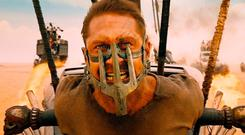 Tom Hardy plays Max Rockatansky in 'Mad Max: Fury Road', in which the world has fallen into a post-apocalyptic dystopia