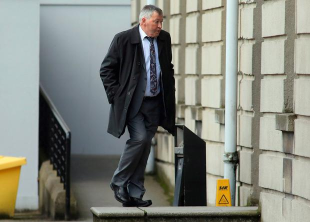 Graham Dwyer did not attend court but his father Sean did. Photo: Collins Courts