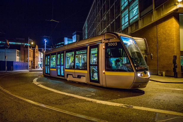 A LUAS tram. Photo: Arthur Carron