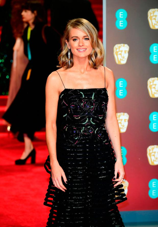 Cressida Bonas attending the EE British Academy Film Awards held at the Royal Albert Hall, Kensington Gore, Kensington, London