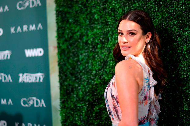 Lea Michele attends the Runway To Red Carpet, hosted by Council of Fashion Designers of America, Variety and WWD at Chateau Marmont on February 20, 2018 in Los Angeles, California. (Photo by Matt Winkelmeyer/Getty Images)