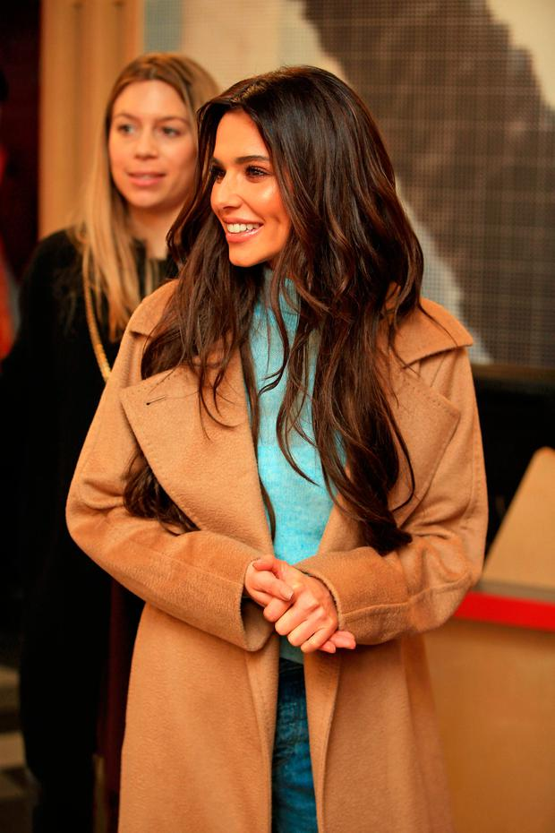 Cheryl at the opening of the new Prince's Trust and Cheryl's Trust centre in Newcastle