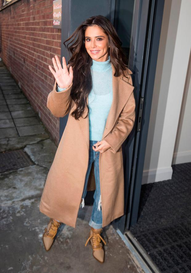 Cheryl arriving ahead of the opening of the new Prince's Trust and Cheryl's Trust centre in Newcastle