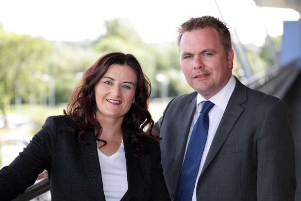 Pictured at Datapac's headquarters are Karen O'Connor, general manager service delivery, Datapac; and Patrick Kickham, director, Datapac