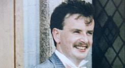 Aidan McAnespie was shot dead as he walked through an Army checkpoint in Northern Ireland in 1988 (PA)