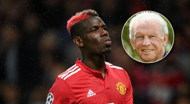 John Giles (inset) believes Paul Pogba's confidence has been dented in recent weeks