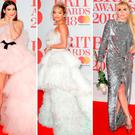 (L to R) Dua Lipa, Rita Ora, Paloma Faith and Myleene Klass at the 2018 BRITs