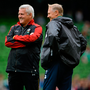 Warren Gatland and Joe Schmidt will face off for the sixth time on Saturday Photo: Sportsfile/Corbis via Getty Images