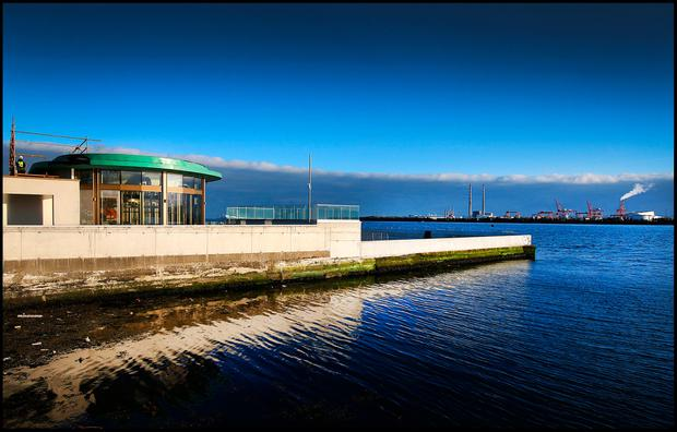 Construction works nears completion at The Baths at Clontarf