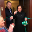 Mary Lou McDonald opened the office used by Sinn Féin MP Chris Hazzard in Castlewellan, Co Down, last month