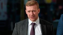 Stuart Olding (24) denies the rape charge. The trial heard yesterday his semen was found on the alleged victim's clothing