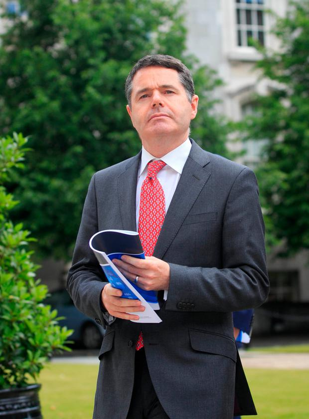 Paschal Donohoe TD Photo: Gareth Chaney/Collins