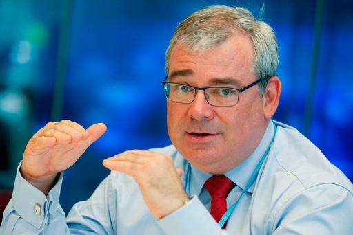 Bernard Byrne, chief executive officer of Allied Irish Banks Plc