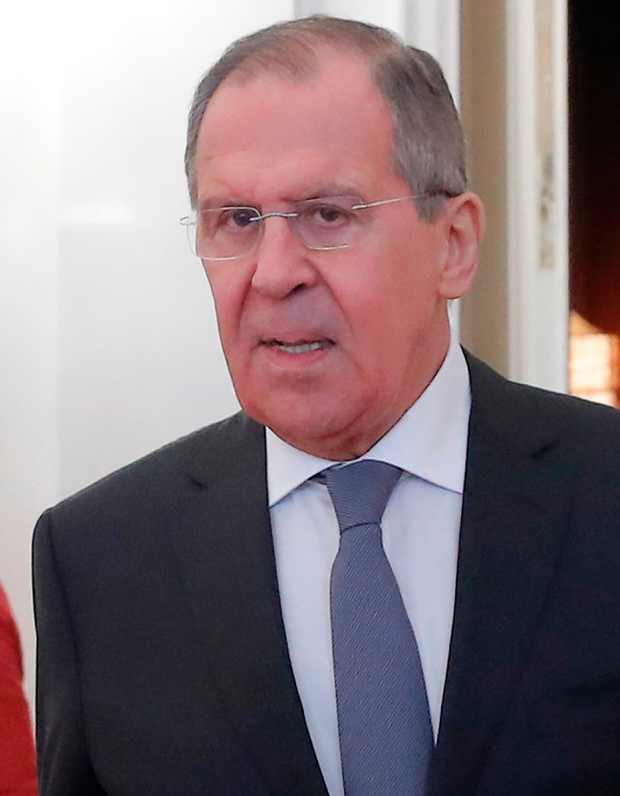 Russian foreign minister Sergei Lavrov Photo: REUTERS/Maxim Shemetov