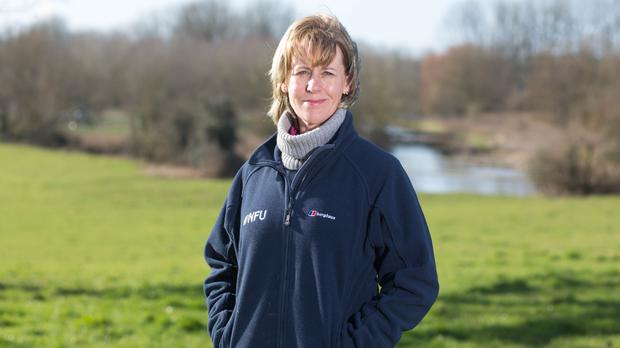 Minette Batters has become the first female president of the National Farmers' Union (NFU/PA)