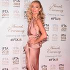 Victoria Smurfit at the 2018 IFTA Film & Drama Awards Ceremony