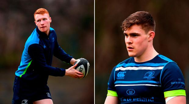 Ciarán Frawley and Garry Ringrose both start for Leinster