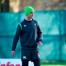 Joe Schmidt will place much responsibility on the shoulders of Johnny Sexton and Conor Murray. Photo: Sportsfile