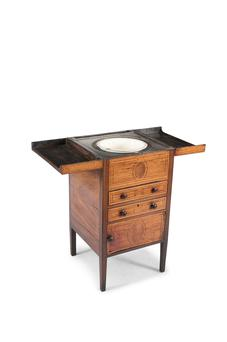 A George III toilet commode