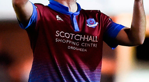 New Drogheda United manager Tim Clancy is preparing for his first season in the dug-out after spending last term playing with Bray. Photo: Sportsfile